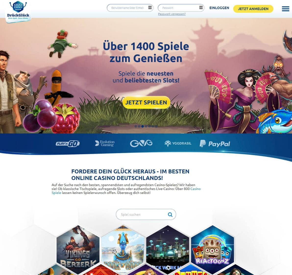 free online casino games unblocked