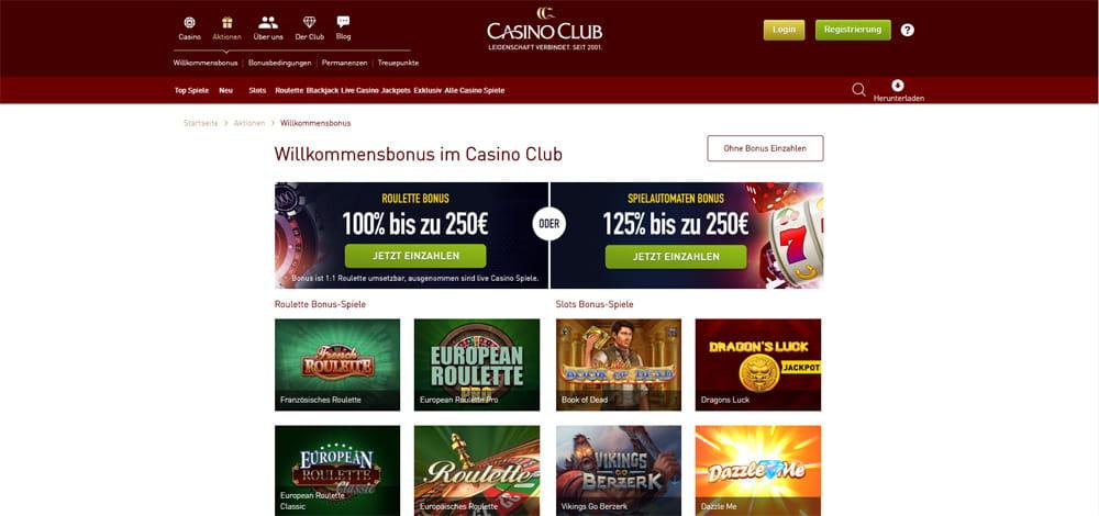 CasinoClub - Das Beste Online-Casino Im Internet