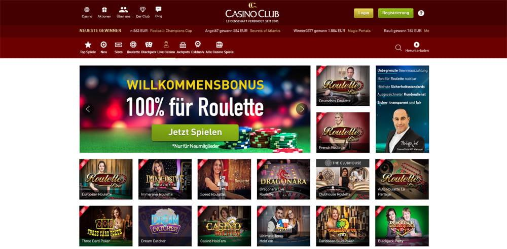 Casino Club Manipuliert