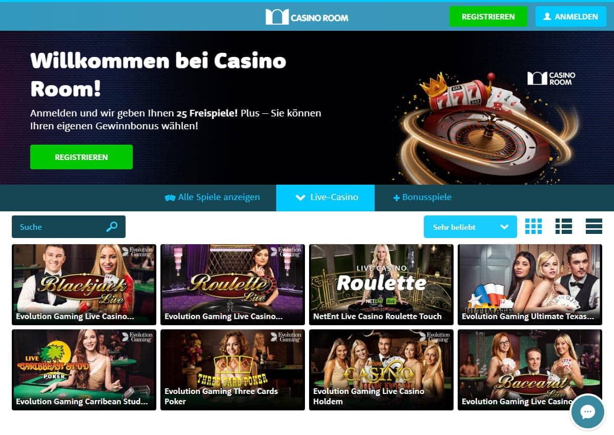 Casino Room Bonus August