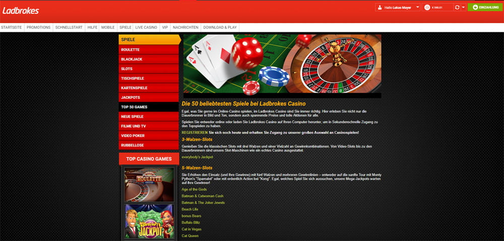 ladbrokes casino auszahlung