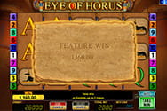 Hohe Gewinnchancen bei Eye of Horus