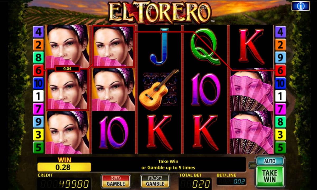 Online Casino El Torero