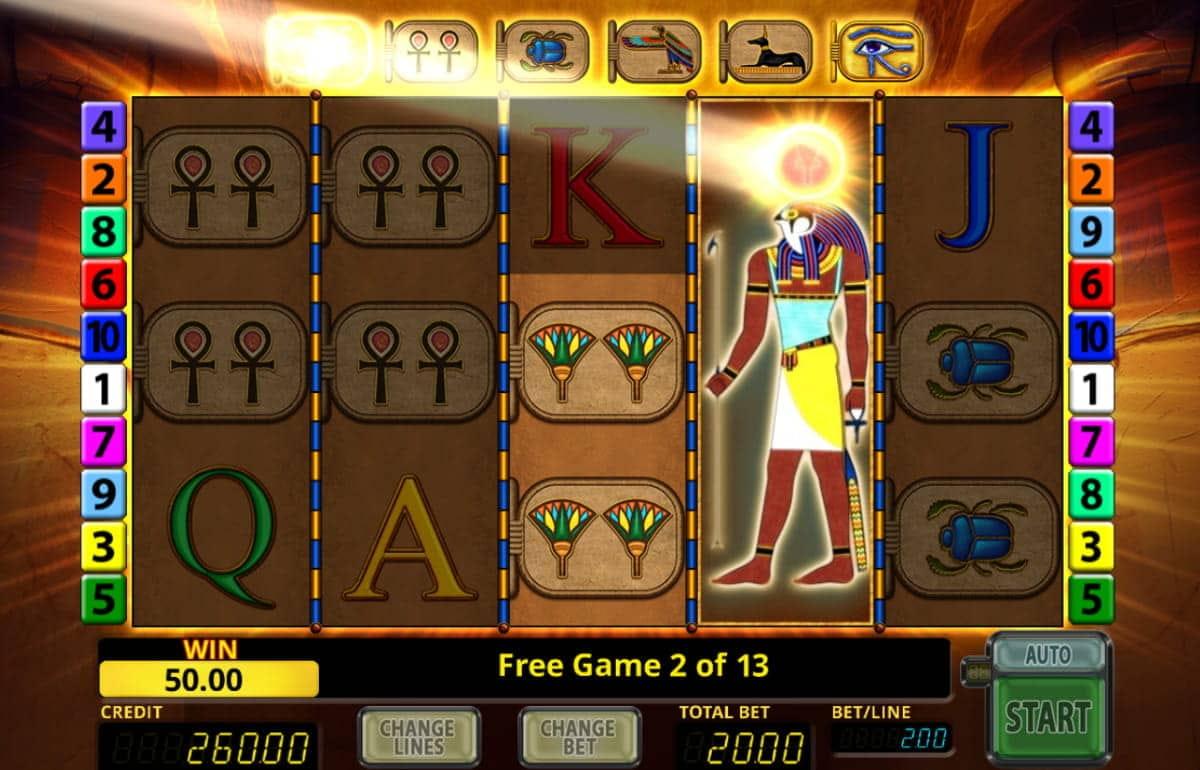 Online Casino Eye Of Horus Echtgeld
